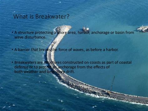 what does breakwaters