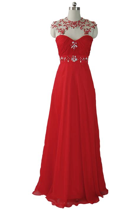 5 style red evening dresses for women
