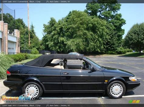 saab convertible black 1996 saab 900 s convertible black gray photo 7
