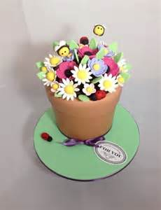 Decorations In Minecraft Flower Pot Cake Cake By Olivia S Kitchen Cakesdecor