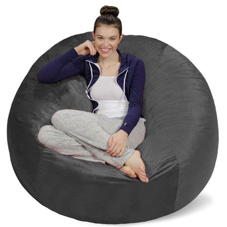 sofa sack bean bag sofa sack memory foam bean bag chair 5 ft walmart com