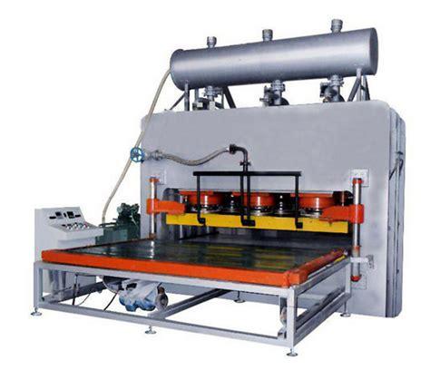 Mesin Laminasi Panas kertas melamin laminasi pendek siklus panas tekan mesin untuk mdf dan papan pb panel berbasis