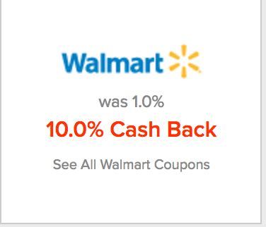 Can You Get Cashback From A Walmart Gift Card - 12 cash back at walmart com with topcashback 11 with befrugal 10 with ebates