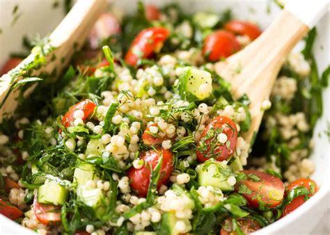 couscous salad israeli couscous salad recipetin eats