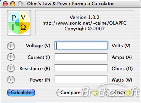 calculator ohm i allow you download ohms law calculator download