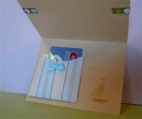 tarjeta con bolsillo de papel gu 237 a de manualidades