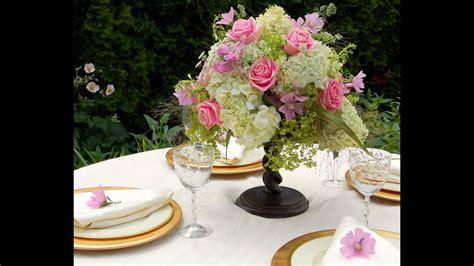 arreglo floral para centro de mesa bautizos matrimonios etc como hacer centros de mesa con flores naturales para boda