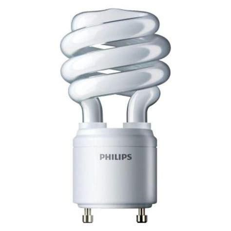 Lu Philips Spiral 24 Watt philips 60w equivalent soft white 2700k spiral gu24 cfl light bulb e 6 pack 417238 the