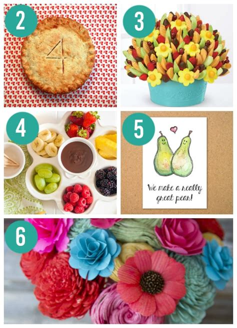 fruit gift ideas anniversary gifts by year