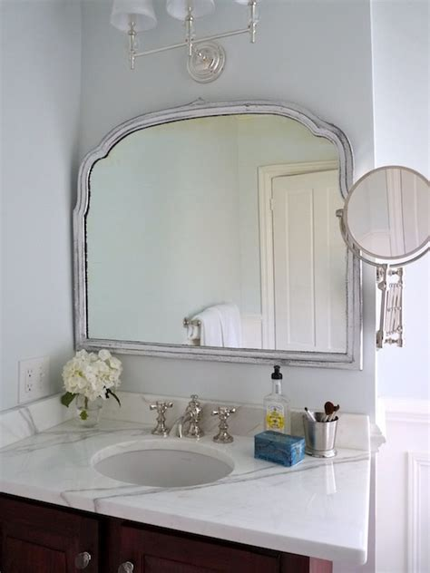 Restoration Hardware Bathroom Mirrors Restoration Hardware Lugarno Extension Mirror Design Ideas