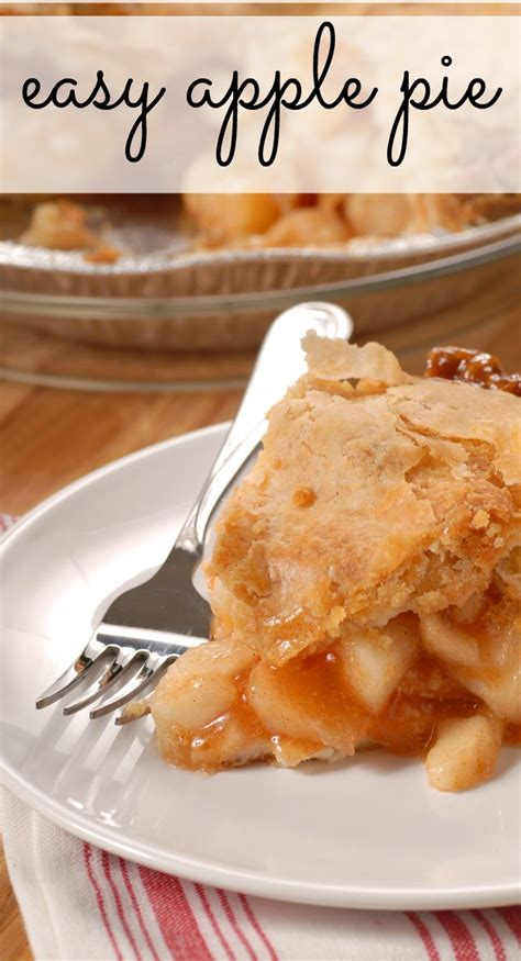 easy apple pie recipe dishmaps