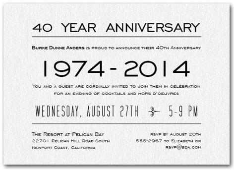 Business Anniversary Card Template
