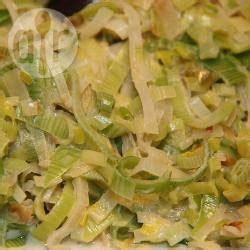 recette fondue de poireaux rapide toutes les recettes