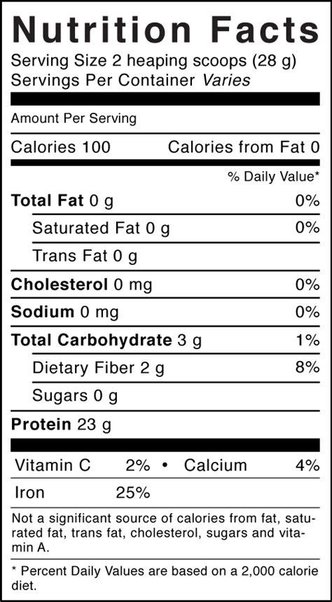 printable nutrition label printable blank nutrition label nutrition ftempo