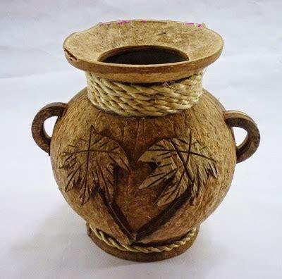 aneka kerajinan tangan  batok kelapa  mempunyai