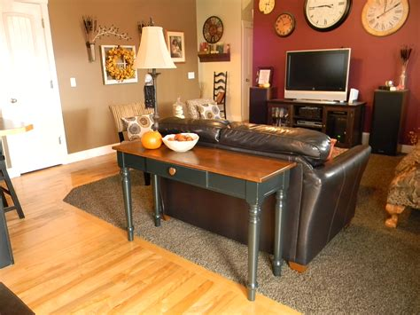 Sofa Table And Extra Dining Organize And Decorate Everything Decorate A Sofa Table