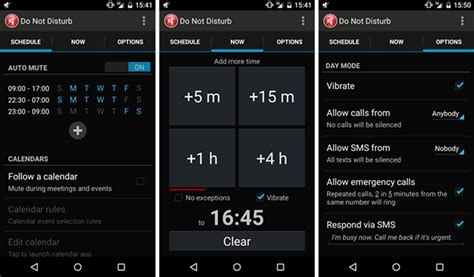 Android Do Not Disturb by Android S Quot Do Not Disturb Quot Is Way Better Than Ios
