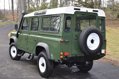 original land rover defender original land rover defender 110 1988 lhd for sale land