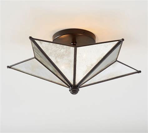 moravian flushmount pottery barn lighting