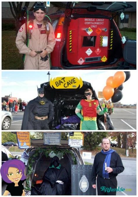 halloween themes for trunk or treat 11 trunk or treat ideas featuring movie themes tip junkie
