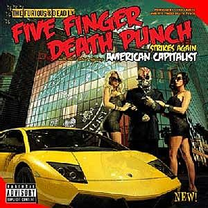 five finger death punch covers five finger death punch reveal american capitalist cover art