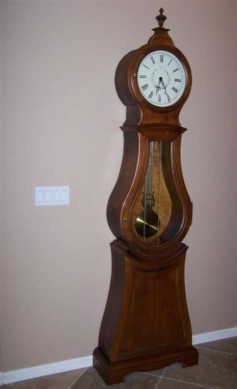 ethan allen floor ls ethan allen bombe floor clock grandfather gorgeous ebay