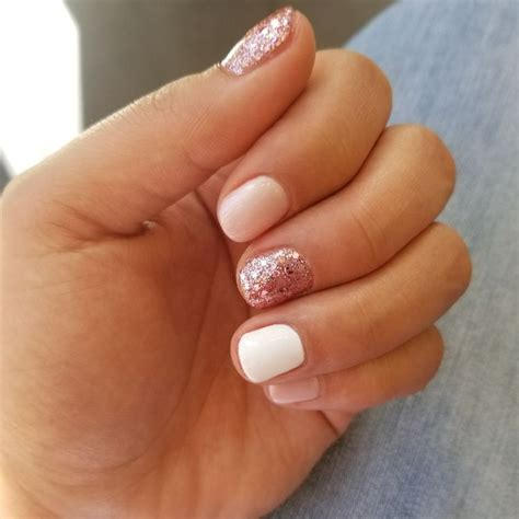simple cute natural summer nail color designs
