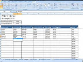 Rental Property Spreadsheet Template by Property Managers Template Rent Income And Expense