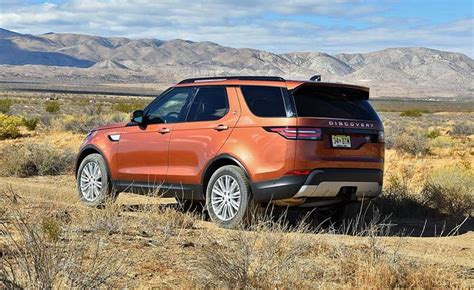 orange land rover discovery 2018 land rover discovery diesel one news page video