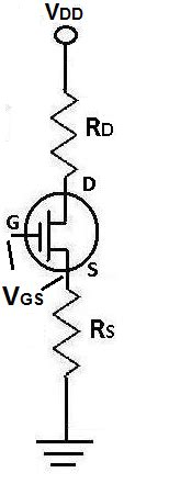 transistor jfet vgs what is the gate source voltage vgs of a fet transistor