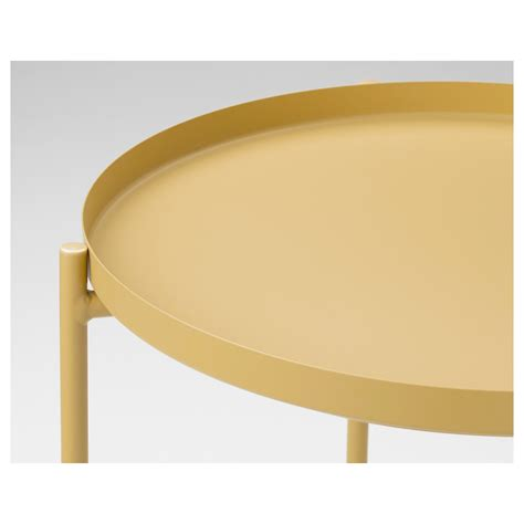 Yellow Side Table Ikea Gladom Tray Table Light Yellow 45x53 Cm Ikea