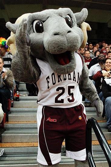 fordam rams fordham rams mascot college mascots atlantic 10