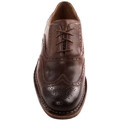 sebago brattle ii leather wingtip shoes for 8134x