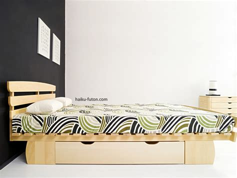 cama open  cabezal piecero  cajon haiku futon