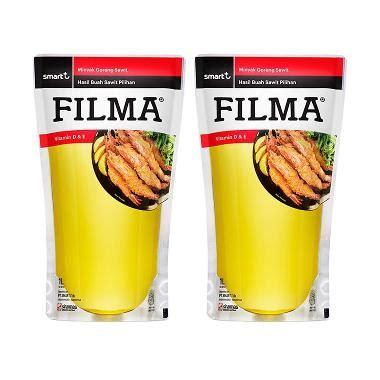 Minyak Filma jual filma minyak goreng pouch 1000 ml x 3pcs