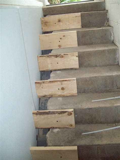 stair repair before