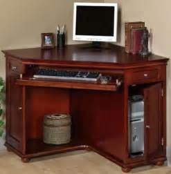 Corner Cherry Desk Wood Cherry Corner Desk With Hutch Decor Ideasdecor Ideas