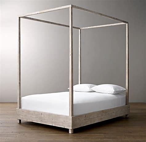 Platform Canopy Bed Callum Platform Canopy Bed