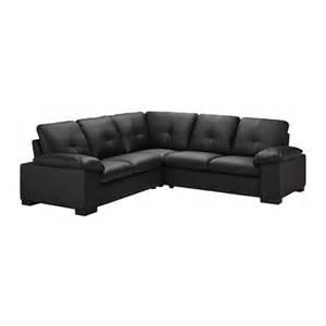 dagstorp corner sofa 2 2 laglig black ikea