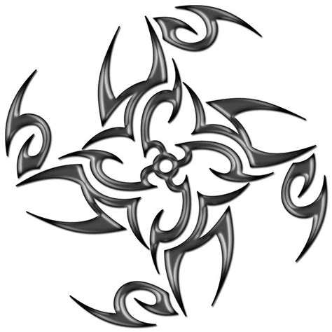 ninja star tattoo designs tribal by blakewise deviantart on