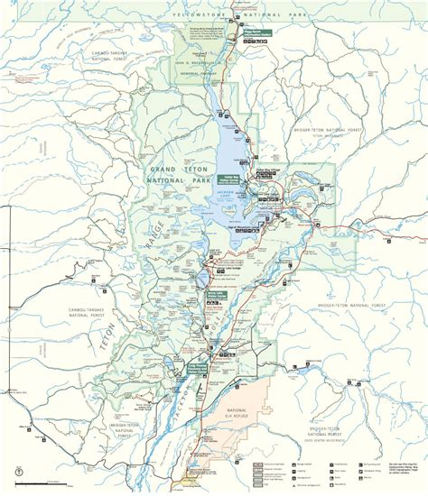 grand teton national park map the ultimate 7 day teton and yellowstone road trip