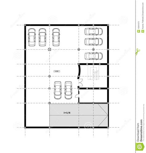 cad architectural plan drawing stock photos image 15941673