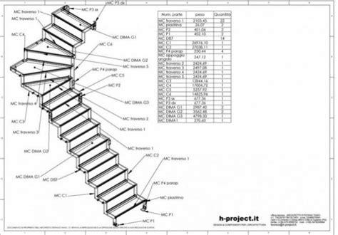 disegni di scale interne progetto scala interna kb41 pineglen