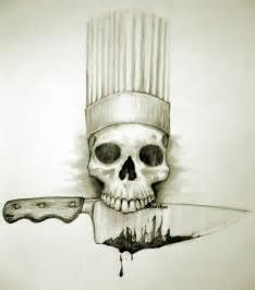 Kitchen Knives Forum cfod bourdain photo from scetchbook drawn by kevin