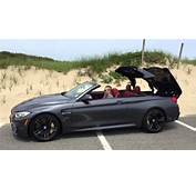 2015 BMW M4 Convertible Hard Top  NYDN Autos YouTube