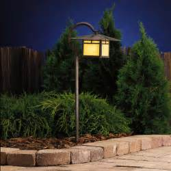 Outdoor Pathway Lighting Fixtures Low Voltage Landscape Lighting For Safety