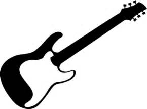 Guitar Clipart Outline by Guitar Clip Clipartion
