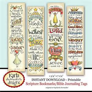 Luke 1 4 bible bookmarks bible journaling tags instant download