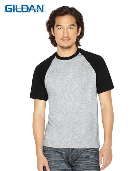 Kaos Gildan 76500 Raglan Premium Cotton Berwarna Polos Unisex Original gildan 76500 premium cotton ring spun classic fit raglan t shirt deals for only s 12 9