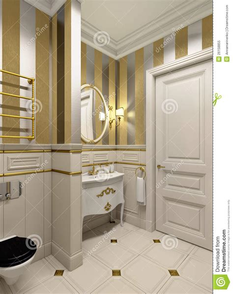gold bathrooms gold bathroom stock image image of sink towel retro